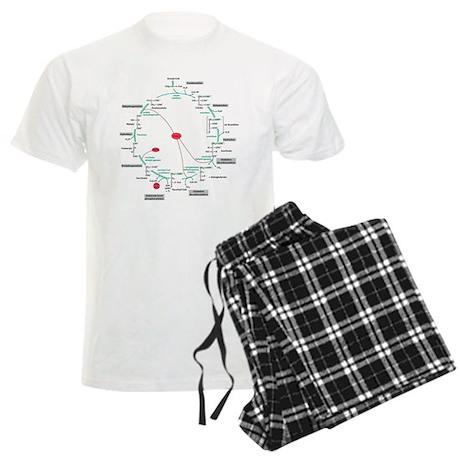 Kreb's Cycle Men's Light Pajamas