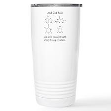 God Created DNA Travel Mug