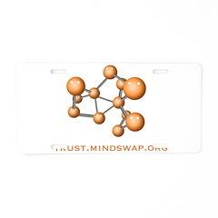 Social Network Aluminum License Plate