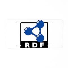 RDF Aluminum License Plate