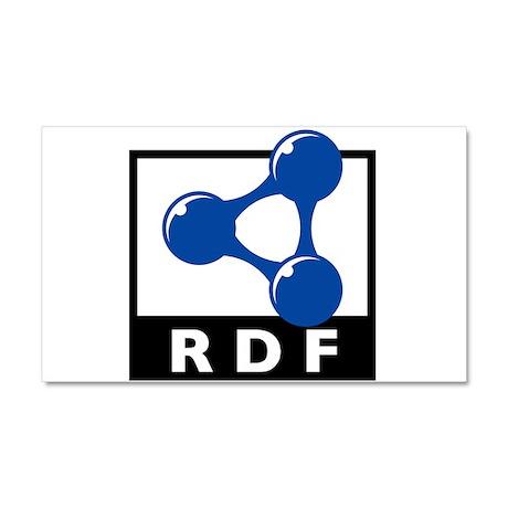 RDF Car Magnet 20 x 12