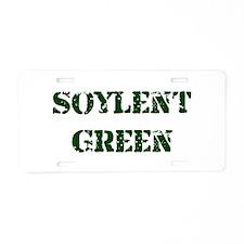 Soylent Green Aluminum License Plate