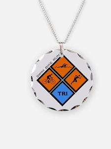 Tri Diamond Necklace