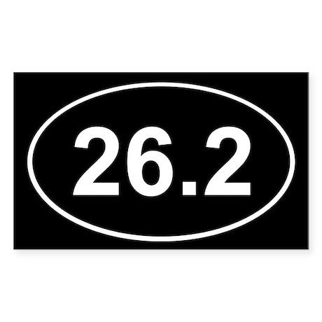 26.2 Marathon Sticker (Rectangle 10 pk)
