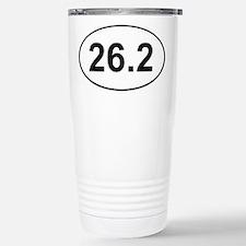 26.2 Marathon Travel Mug