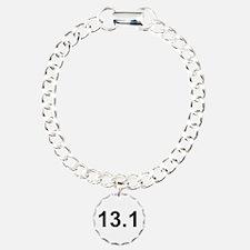Half Marathon 13.1 Charm Bracelet, One Charm