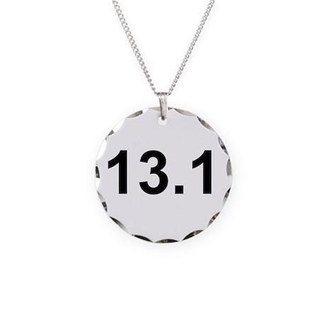Half Marathon 13.1 Necklace Circle Charm