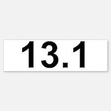 Half Marathon 13.1 Bumper Bumper Sticker