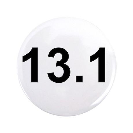 """Half Marathon 13.1 3.5"""" Button (100 pack)"""