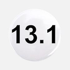 """Half Marathon 13.1 3.5"""" Button"""