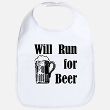 Will Run for Beer Bib