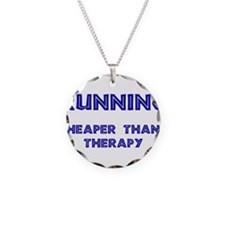Running: Cheaper than therapy Necklace