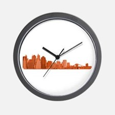 New York Marathon - In Traini Wall Clock