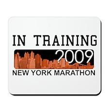 New York Marathon - In Traini Mousepad