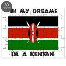 In my dreams I'm a Kenyan Puzzle
