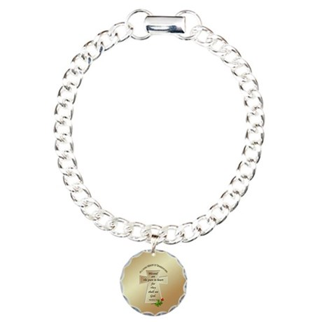 In Loving Memory of Grandfather Charm Bracelet, On