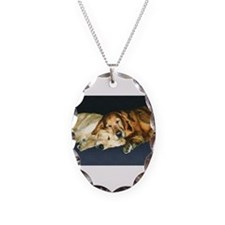 Old Friends Golden Retriever Necklace
