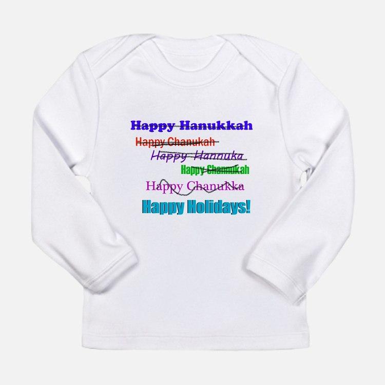 Happy Holiday Long Sleeve Infant T-Shirt