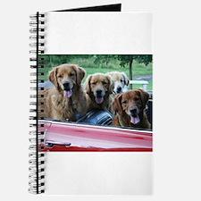 Golden Retriever Summer Drive Journal