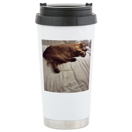 Pampered Stainless Steel Travel Mug