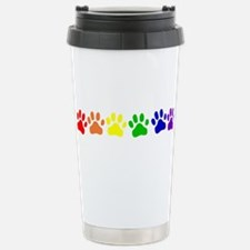 Rainbow Paws Stainless Steel Travel Mug