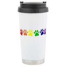 Rainbow Paws Travel Mug