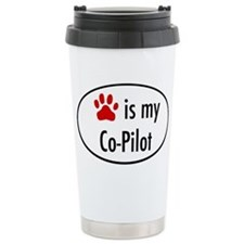Dog is my Co-Pilot Travel Mug
