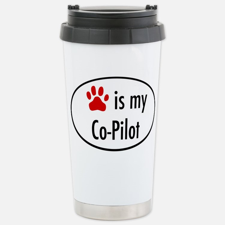 Dog is my Co-Pilot Travel Mug