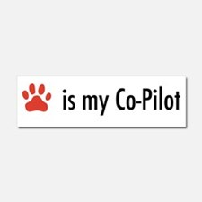 Dog is my Co-Pilot Car Magnet 10 x 3