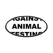 Against Animal Testing Patches