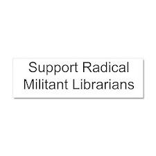Cute Radical militant librarian Car Magnet 10 x 3