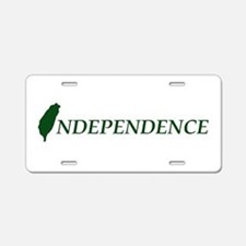 Taiwan Independence Aluminum License Plate
