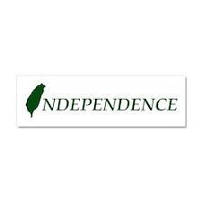 Taiwan Independence Car Magnet 10 x 3