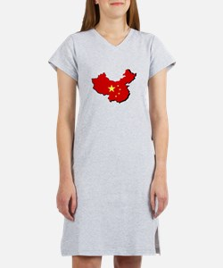 Proudly Banned in China Women's Nightshirt