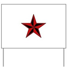 Red Star Yard Sign