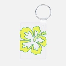 Surf Flowers (Yellow and Gree Keychains