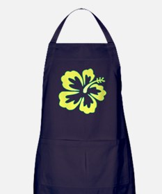 Surf Flowers (Yellow and Gree Apron (dark)