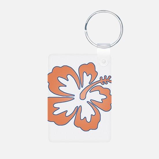 Surf Flowers (Orange and Blue Keychains