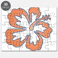 Surf Flowers (Orange and Blue Puzzle