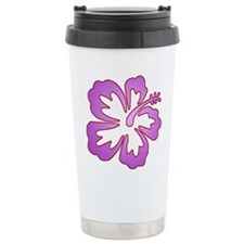 Surf Flowers (Purple with Red Stainless Steel Trav