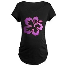 Surf Flowers (Purple with Red T-Shirt