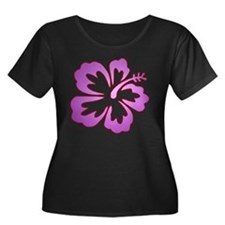 Surf Flowers (Purple with Red T