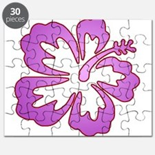 Surf Flowers (Purple with Red Puzzle