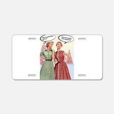 Cute Funny christmas Aluminum License Plate