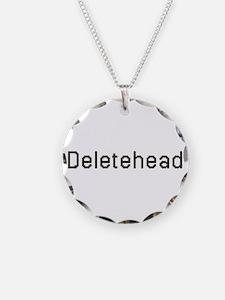 Deletehead Necklace