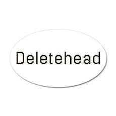 Deletehead 22x14 Oval Wall Peel
