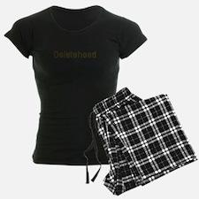 Deletehead Pajamas