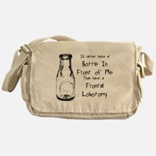 Frontal Lobotomy Messenger Bag