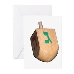 dreidel Greeting Cards (Pk of 20)