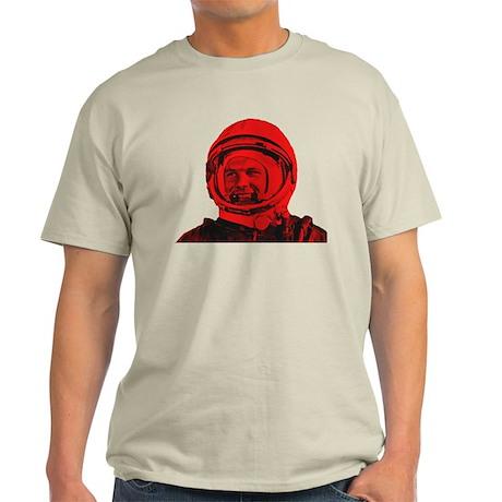 Yuri Gagarin First Human in Space Light T-Shirt